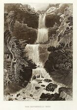 Hunter (nueva york) - kaaterskill Falls-Meyer 's universo-acero 1837 clave