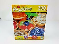 "Puzzlebug ""Pies on Display"" 300 Piece Jigsaw Puzzle SEALED"