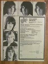 Bay City Rollers, Full Page Vintage Clipping, Merchandise Ad