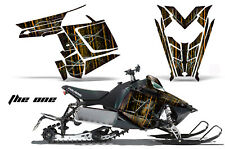 Sled Graphics Kit Decal Sticker Wrap For Polaris Pro RMK Rush 11-16 THE ONE ORNG