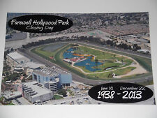 FAREWELL TO HOLLYWOOD PARK Racetrack Commemorative 8x12 2013 Closing Day Photo