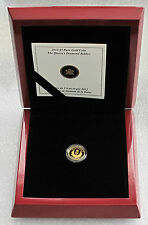 2012 CANADA $5 DOLLARS GOLD COIN .9999 PURE THE QUEENS DIAMOND JUBILEE CYPHER