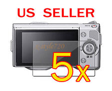 5x Sony Camera NEX-3 NEX-5 NEX-5N NEX-7 NEX-7N LCD Screen Protector Cover Film