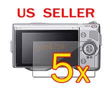 5x Sony Camera NEX-3 NEX-5 NEX-5N NEX-7 NEX-7N LCD Screen Protector Cover Film
