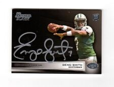 2013 Bowman Black Geno Smith Autograph 7/10!