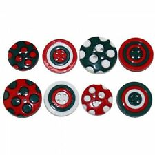 Dress It Up Plastic Round Sewing Buttons