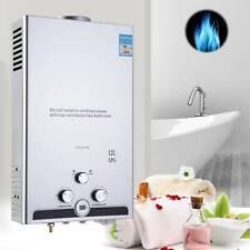 Hot Water Heater Instant Tankless Gas Boiler 12L 24kw LPG Propane UK