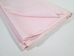 """Soft Pink Synthetic Fabric 7.5 Yards by 45"""" Wide Lightweight Semi Sheer Material"""