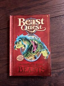 Beast Quest - The Complete Book of Beasts - Hardback - Over 70 Beasts