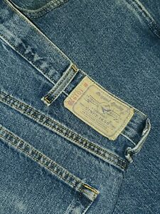 BassPRO Red Head JEANS Relaxed Fit Mens Blue Jean 42 x 30 Cotton 10972