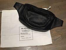 MAISON MARTIN MARGIELA   H&M black oversized fanny pack bag with original duster