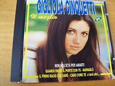 GIGLIOLA CINQUETTI IL MEGLIO CD MINT- MOGOL