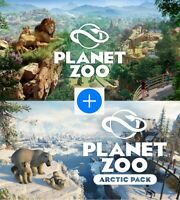 Planet Zoo + Arctic Pack DLC Steam PC ( FULL GAME ) Read the Description !!