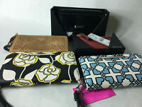Lot of New Mixed Womens Wallets Purses wristlets Kenneth Cole Betsey Johnson