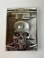 T2 The Extreme DVD Edition (DVD, 2003, 2-Disc Set) Terminator 2 Metal Slipcover
