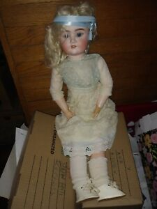 Possessed Antique German Bisque Doll