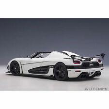 1 18 Koenigsegg Agera RS White W/black Accents Autoart