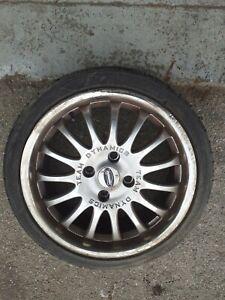 "17"" Team Dynamics Wheels & Tyres -  4.5"" Pcd"