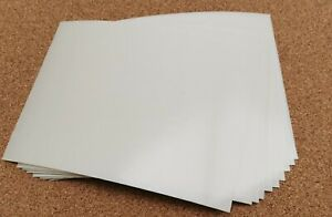 25 A5 double sided adhesive tape sheets - very sticky