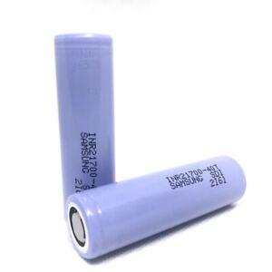 2x Samsung 40T 21700 4000mAh  3.7V Rechargeable Batteries w/ Case