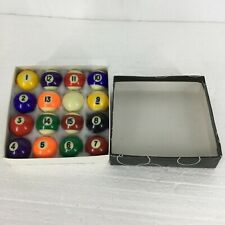Vintage Aramith Escalade Sports Billiard Harvard Game Table Miniature Balls