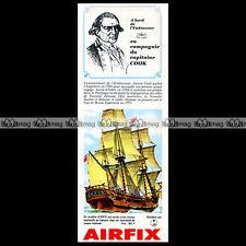 AIRFIX 'Ship ENDEAVOUR' (Captain James COOK) 1965 - Pub / Publicité / Ad #C15