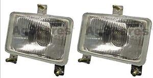 Headlamp Headlight pair(LH+RH) Massey Ferguson 200 Series - 240, 243,