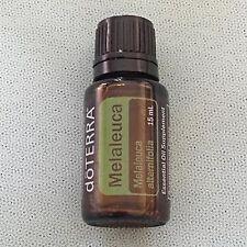 doTERRA MELALEUCA Tea Tree Essential Oil 15ml - New/Sealed - Therapeutic Grade