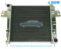 4Row Aluminium radiator For 2002-2006 Jeep Liberty 3.7 V6 DPI2481