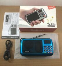 Rolton Digital LED FM Radio Receiver Portable Speaker MP3 Player USB/AUX/TF X0I5