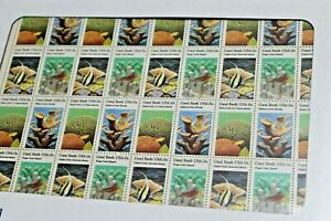 1980 FULL SHEET US STAMP $.15 CENT SCOTT # 1827-1830 CORAL REEFS ISSUES