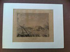 LOUVOIS Auguste - BOCQUET L.A. - IIIème vue de Nice prise en pleine mer.-
