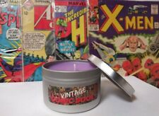 Vintage Comic Book Candle