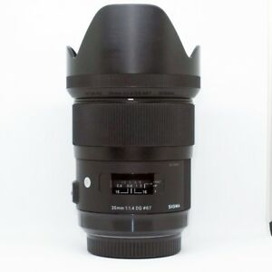 *MINT CLASS*Sigma ART 35mm f/1.4 HSM DG Lens For Sony+UV FILTER