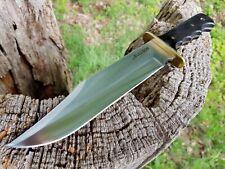 .BULLSON LEDER-SCHEIDE  BUSCHMESSER  KNIFE JAGDMESSER MACHETE MACHETTE  MESSER