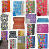 Indian Handmade Cotton Kantha Blanket Bedspread Quilt Throw Twin Bed-Cover