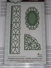CREATIVE EXPRESSIONS - AUSTRIAN COLLECTION - CORNER, BORDER & TAG CED2202