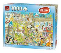 NEW! King Berlin by Gerold Como 1000 piece comic cartoon jigsaw puzzle