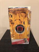 NEW PAULANER 2018 Oktoberfest Stein Glass Beer Mug 1 L Beer Can Munich Germany