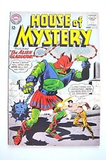 House Of Mystery 1964 # 141 F/Vf Beautiful Solid Dillin Alien Cover,Meskin