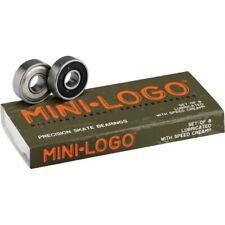 Mini Logo 8mm Bearings - 8 Pack