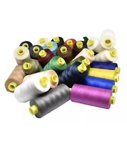 1000 Meters Gutermann MARA 120 Sew-All Thread Polyester (1 SPOOL) - Any Colour