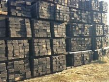 Reclaimed Wooden Railway Sleepers Grade A Pine LANDSCAPING (FULL LOAD)
