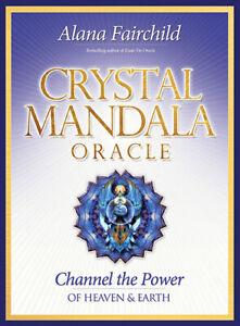 Crystal Mandala Oracle Cards by Alana Fairchild and Jane Marin 9781922161895