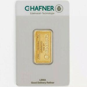 C. Hafner Goldbarren 5g 999 Feingold in Coincard - Von Gold & Silber Karway