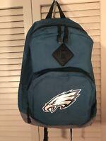New Philadelphia Eagles Midnight Green Backpack Kid Child Book Bag NFL Gym
