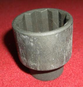 27mm Stahlwille Socket 1/2 Drive 52 6 Point Socket Hex
