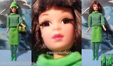 Barbie Francie Doll in Gad About #1250 with Japan Boots Casey Twiggy friend
