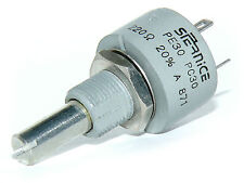 Vishay Sfernice PE30 220 Ohm 3W Potentiometer Linear Fully Sealed Military Prod.