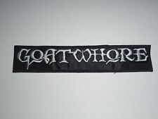GOATWHORE OLD LOGO EMBROIDERED PATCH